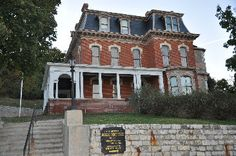 "The Historical ""Dodge House"" in Council Bluffs, Iowa."