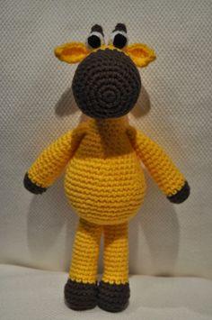 Amigurumi jirafa Patrón Gratis en Español : http://lavaquitadelanita.blogspot.com.es/2014/01/amigurumi-jirafa-con-patron.html?m=1