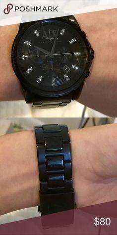 Armani Exchange Males Watch Fair Condition Armani Exchange Males Watch Fair Condition A/X Armani Exchange Accessories Watches