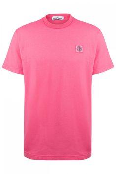 Stone Island Herren T-Shirt Pink | SAILERstyle