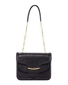 Heroine Shoulder Bag, Black - Alexander McQueen