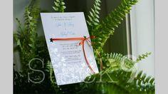 #custom #invitations #stack9photo dayna mancini // event design and coordination // cutetc.com