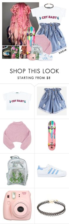 """""""671->""""Back To You"""" by Louis Tomlinson ft Bebe Rexha,Digital Farm Animals"""" by dimibra ❤ liked on Polyvore featuring Lala Berlin, Ernesto Esposito, adidas and Fujifilm"""