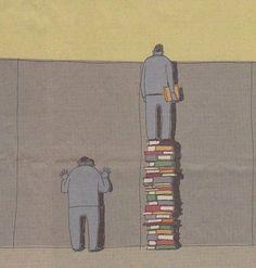 """""""Livros te dão uma nova perspectiva"""""""