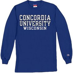 Concordia University Wisconsin Long Sleeve T-Shirt : $24.00