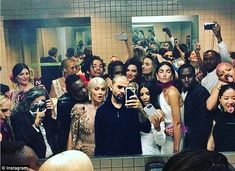 The real party at the Met gala was in the bathroom #dailymail