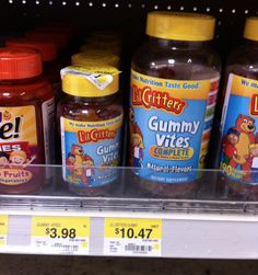 HOT $1/1 Lil Critters Gummy Vitamins Coupon = $2.98 At Walmart!