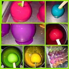 Candy apples delight