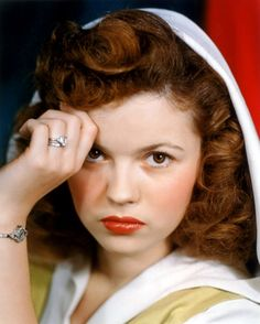 Shirley Temple as a redheaded teenager |.