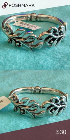 Brighton Laurel Myth Bracelet So Gorgeous!!!  You will love this hinged bracelet! Brighton Jewelry Bracelets