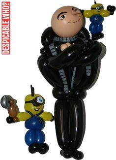 Mr. Balloonatic - Despicable Me Balloons!!