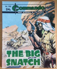Commando Comic Picture Library #1939 War Action Adventure £2