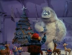 Rudolph the Red-Nosed Reindeer (Rankin/Bass) - Christmas Specials Wiki, Rudolph and friends meet King Moonracer. Christmas Tv Shows, Christmas Past, Retro Christmas, Christmas Pictures, All Things Christmas, Christmas Holidays, Christmas Decorations, Christmas Specials, Christmas Tables