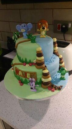 My raa raa cake for my boy x