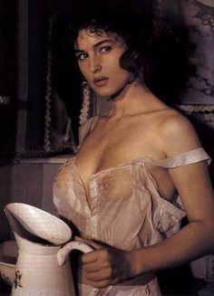 Monica Bellucci Rare : Photo