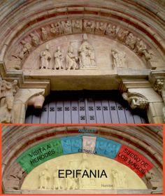 Portada de la iglesia de San Juan del Mercado de Benavente (Zamora).