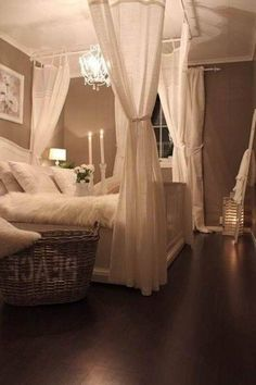 so romantic bedroom <3
