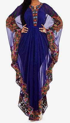 Tiffany full fancy Kaftan abaya for ladies (2)