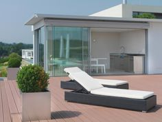 Aussenküche Edelstahl Umgebung Outdoor Furniture, Outdoor Decor, Sun Lounger, Home Decor, Environment, Chaise Longue, Decoration Home, Room Decor, Swinging Chair