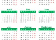 YearlyCalendar  Yearly Calendar    Yearly