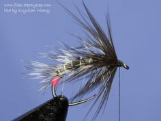 Black & Grizzly Snatcher fly for lake trout fishing - How to tie fly, Fly tying Step by Step Patterns & Tutorials
