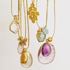 The perfect summer necklaces from Pippa Small