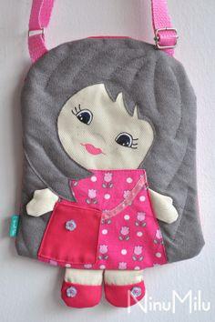 NinuMilu - torebki lalki - handbag dolls for girls: Siostrzyczka dla Ady
