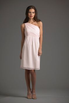 Blush bridesmaid dress from Siri Boutique #weddings