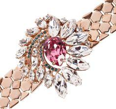 Mawi | Crystal Flower Bracelet close-up