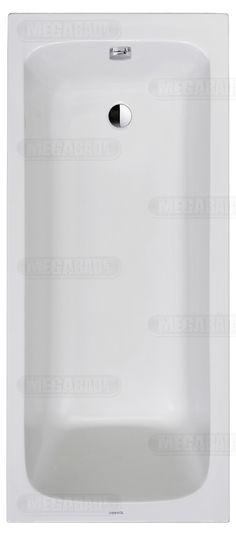 Duravit D-Code Rechteck-Badewanne 160 x 70 cm 700096000000000 - MEGABAD