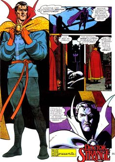 Doctor Strange in Marvel Fanfare #41 - Dave Gibbons