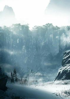 Concept art of the Wall