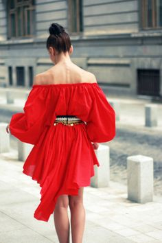 Tango Red Dress by AS