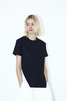 Black Bevel Top - from Assembly New York SS15 Womens Lookbook