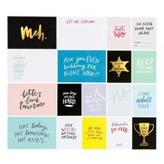 Card Set: Lousy Day Cards by Jasmine Jones at Studio Calico
