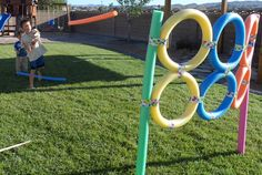 Outdoor games with pool noodles - we used these at our summer camp, Allaso Ranch! www.AllasoRanch.com