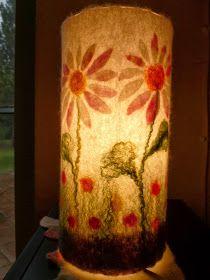 Filzwerkstatt beautiwool: Frühlingsleuchten