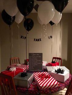 21st #Birthday For Him #SurprisegiftsForHim