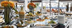 Fine dining at the Radisson Blu Hote, Cape Town. Great seafront location