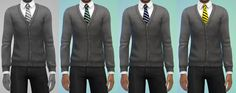 My Sims 4 Blog: Hogwarts Tops for Teen - Elder Males & Females by ...