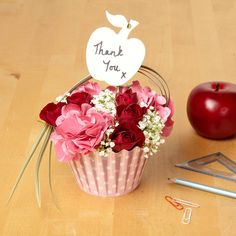 A Sweet Thank You  OASIS® Floral Cupcake
