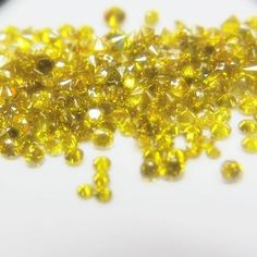 New Loose Yello Fancy Color Natural Round EXCELL Cut Diamond C.W 0.27 Clarity I2 #disoverdiaonds