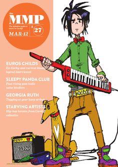 Miniature Music Press March 2012 edition  Featuring Euros Childs, Sleepy Panda… Music Journal, Panda, March, Miniatures, Pandas, Mockup, Panda Bear, Minis, Mars
