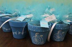 souvenirs macetas nacimiento/ bautismo/ 15 años/ casamiento