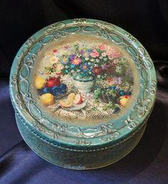 Коробочка с рельефным узором - Ярмарка Мастеров - ручная работа, handmade