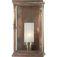SOMERSET LARGE MODERN LANTERN- take off the white part