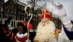 A typical Dutch ritual is to celebrate Sinterklaas at the 5th/6th of december. Sinterklaas and his helpers called black Petes, bring gifts to all the children. The funny thing about sinterklaas is, that the children think that Sinterklaas brings the gifts, but it is actually their own parents. Sinterklaas is like a dream. At a higher age your parents will tell you that it was all fake. :)