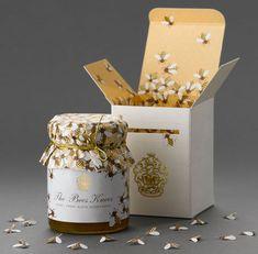 остроумая упаковка для меда Bees Knees