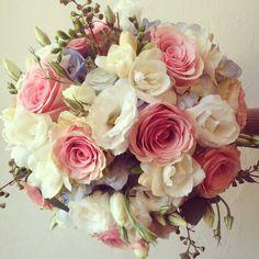 Jennifer's bridal bouquet. Botany Fliral Studio