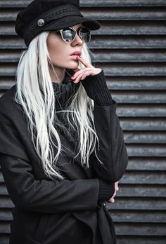 Fashion Secrets with Oksana: Trendy High Fashion Metal Trim Horned Rim Sunglasses 9859